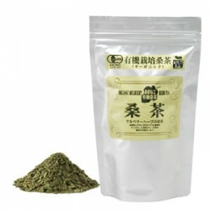 有機桑茶:アルミパック入り:急須用バラ100g