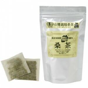 有機桑茶:アルミパック入り:ティーバッグ2.5g✗36包入