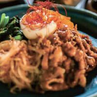 「豆茶香」江津のビビンバ丼