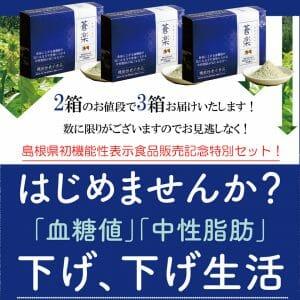 1箱サービス 販売記念特別セット 血糖値 中性脂肪が気になる方へ 桑茶 蒼楽
