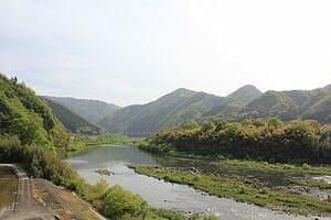 島根の一級河川「江の川」