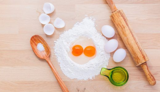 料理道具と食材