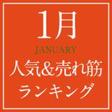 2021年1月人気&売れ筋ランキング!